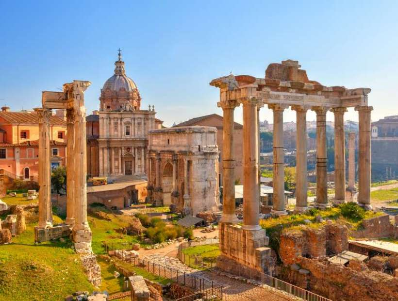 Image result for roman forum rome