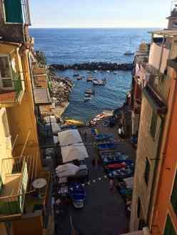 La darsena di Riomaggiore