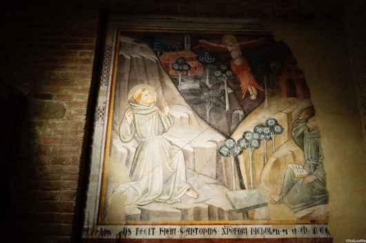 Opera custodita nella Chiesa di Santa Flora e Lucilla
