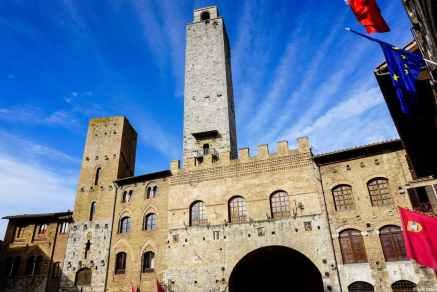 Il Palazzo del Podestà con la sua Torre Rognosa, San Gimignano