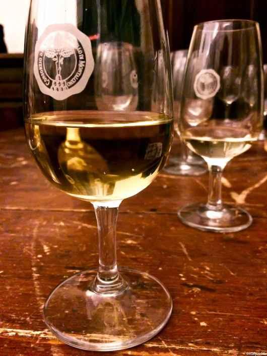 """Un Moscadello di Montalcino della tipologia """"tranquillo"""" degustato durante la cena Montalcino d'ottobre"""