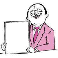 平成おじさんを真似るおっさん(ピンク色ver)