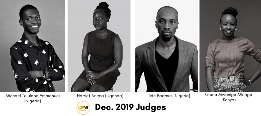 2019 CFW Collins Elesiro Prize Judges