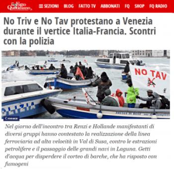 choques Venecia