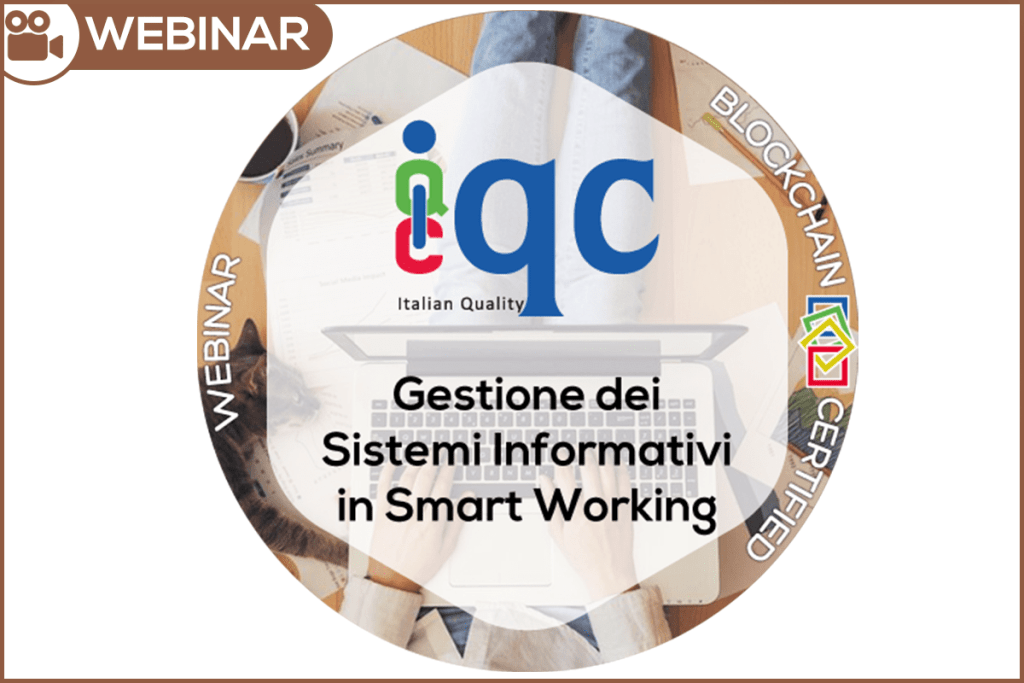 Webinar Gestione Sistemi Informativi in Smart Working