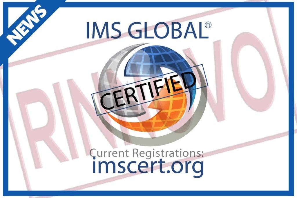 rinnovo certificazione IMS Global per la piattaforma C_BOX