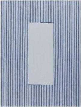 Park Seo Bo Ecriture, 2006 Matériaux mixtes et papier Korean Hanji sur toile 116.3 x 89.3 cm