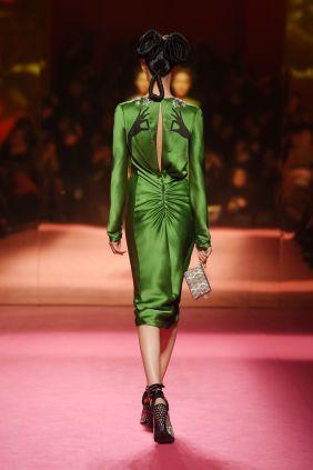 Robe trompe l'oeil - Schiaparelli-Haute-Couture