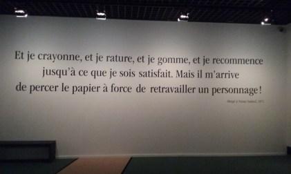 Hergé au Grand Palais
