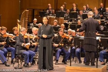 Fabrice di Falco, L'orchestre Symphonique de la Garde Républicaine et le Chœur de l'Armée Française