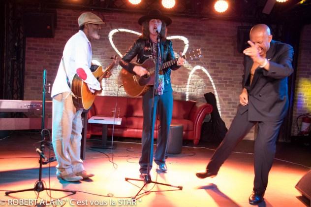 """Jacques Sango, Thomas Baignères, Daniel valcin """"tape dance"""""""