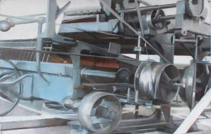 Pastel sec sur papier 138 x 92 cm 2015