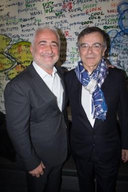 Guy Savoy et Fabrice Hyber