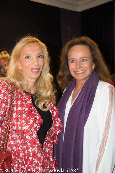 Sylvie Marshall et la Comtesse Eleonore de la Rochefoucauld