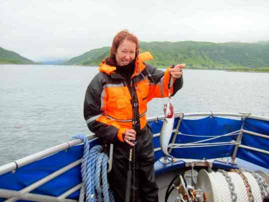 Même sans aptitude pour la pêche, impossible ne pas attraper de poisson.