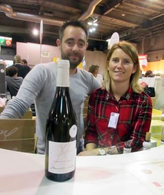 Alexandre et Fanny jeune couple de vignerons du Domaine Belleville, Menetou-Salon