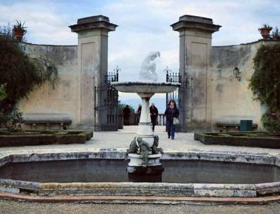 Fontaine du jardins