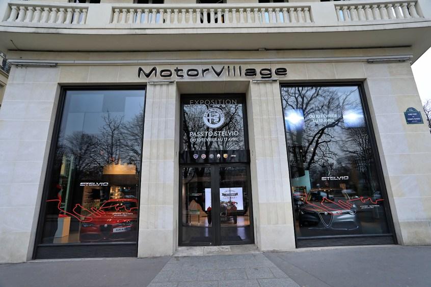 Expo MotorVillage Pass To Stelvio