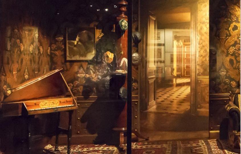 Reconstitution de l'appartement parisien de Rudolf Noureev