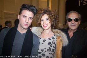 Ludovic Baron, Lydia Golberg, Alain Benoist