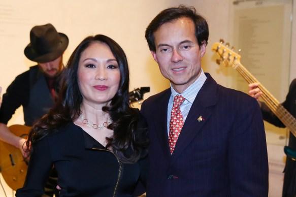 Su Hsia Chen, Stephane Ruffier Meray