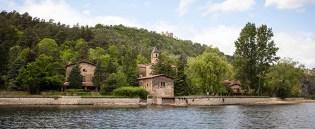 Le hameau des camaldules devenu résidence privée.