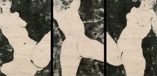Sophie Sainrapt -traces de femmes-triptyque