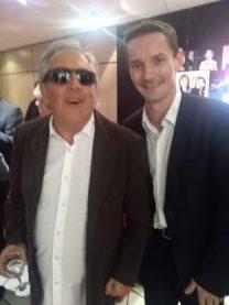 Gilbert Montagné et Olivier Freulon