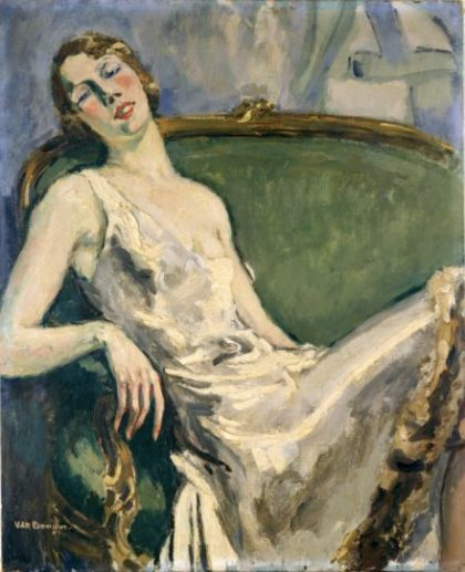 Kees Van Dongen_Portrait de Mme M.-T.Raulet_Caen