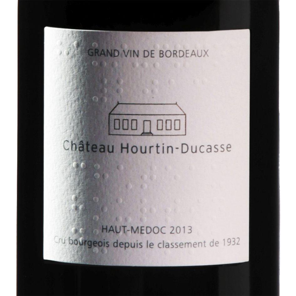 Chateau Hourtin-Ducasse, etiquette