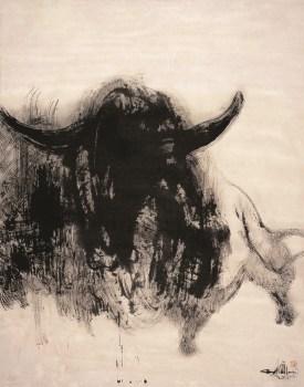 Taureau chinois, 2012_180 x 140 cm