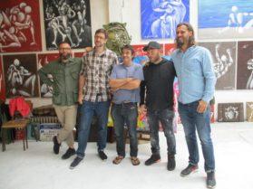 Arnaud Liard, Hobz, Jérôme Mesnager, Zénoy, Lek