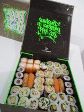 Du street art pour les 20 ans de Sushi Shop !