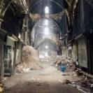 Image 3D du souk d'Alep, Syrie