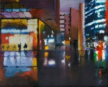 After work-Huile-50x70-2015