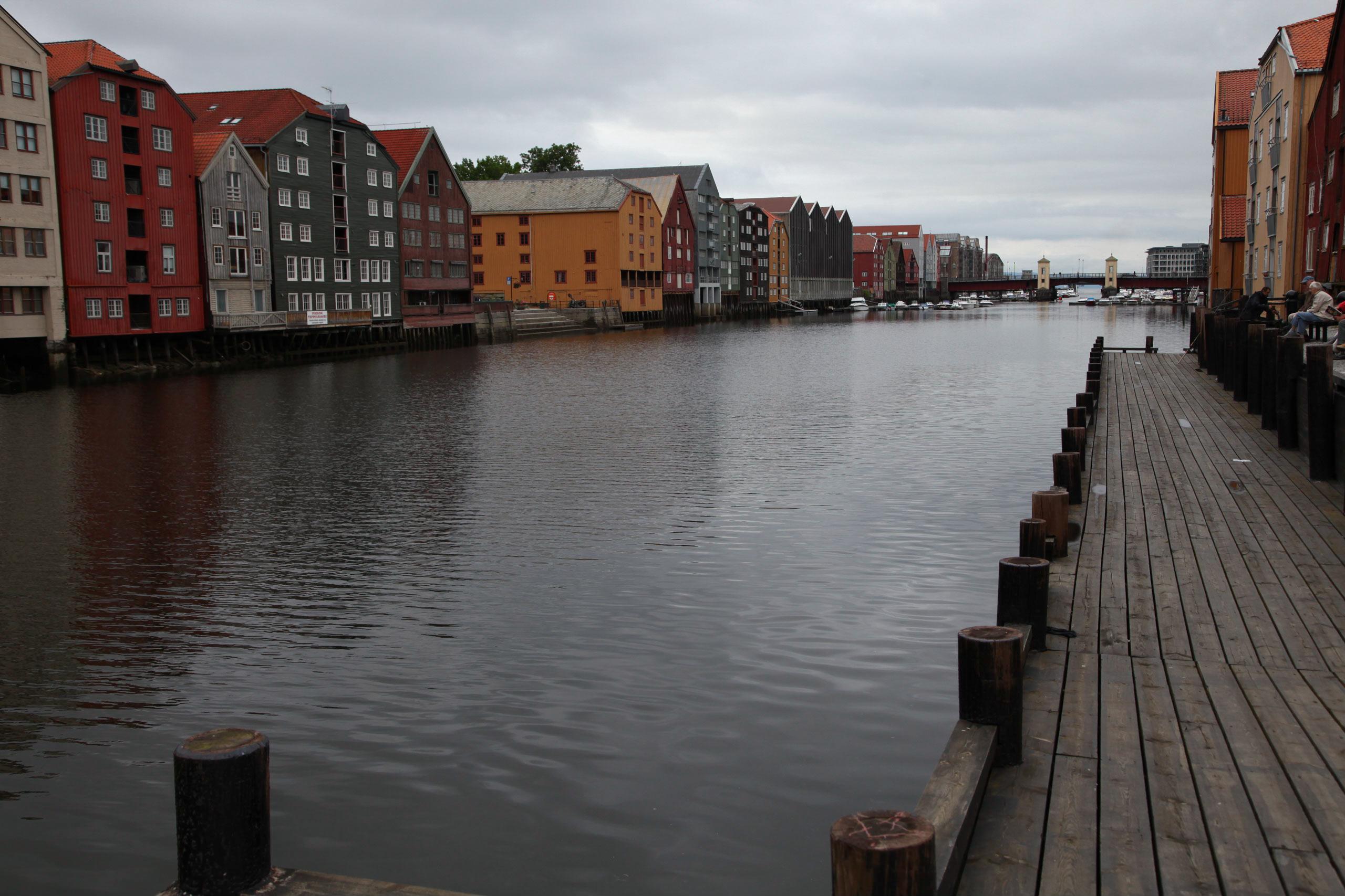 Photographic Enhancement: Bergen, Norway 1