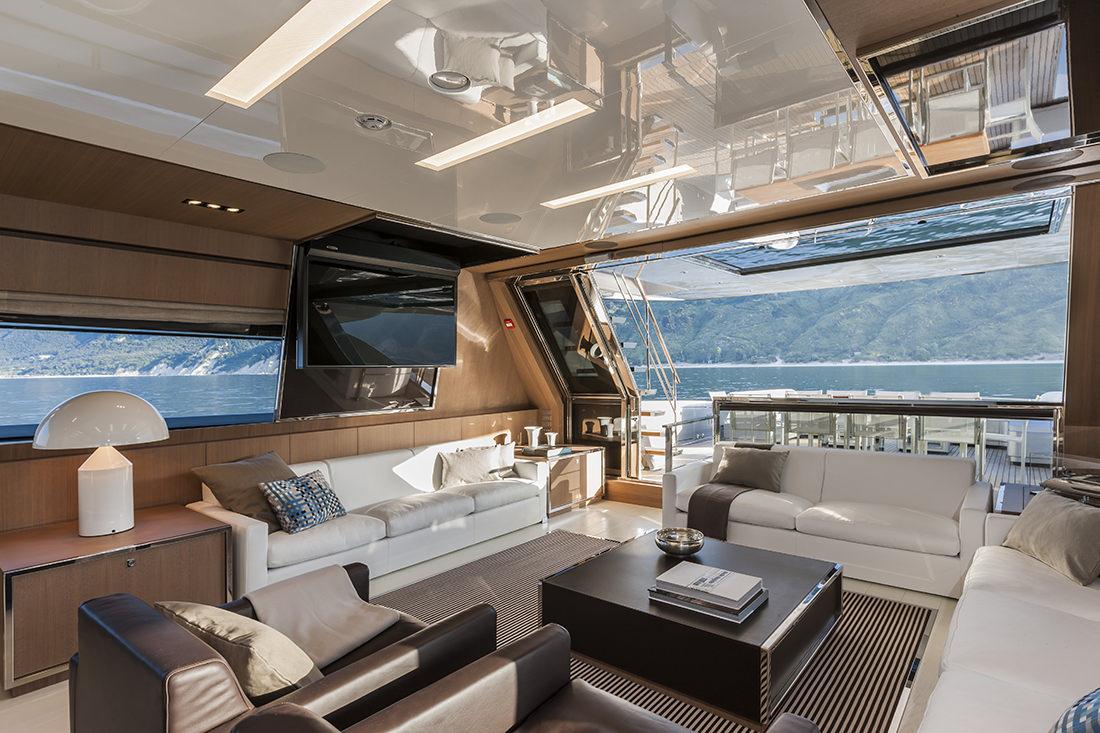 Riva Mythos 122 New Flagship Riva Ita Yachts Canada