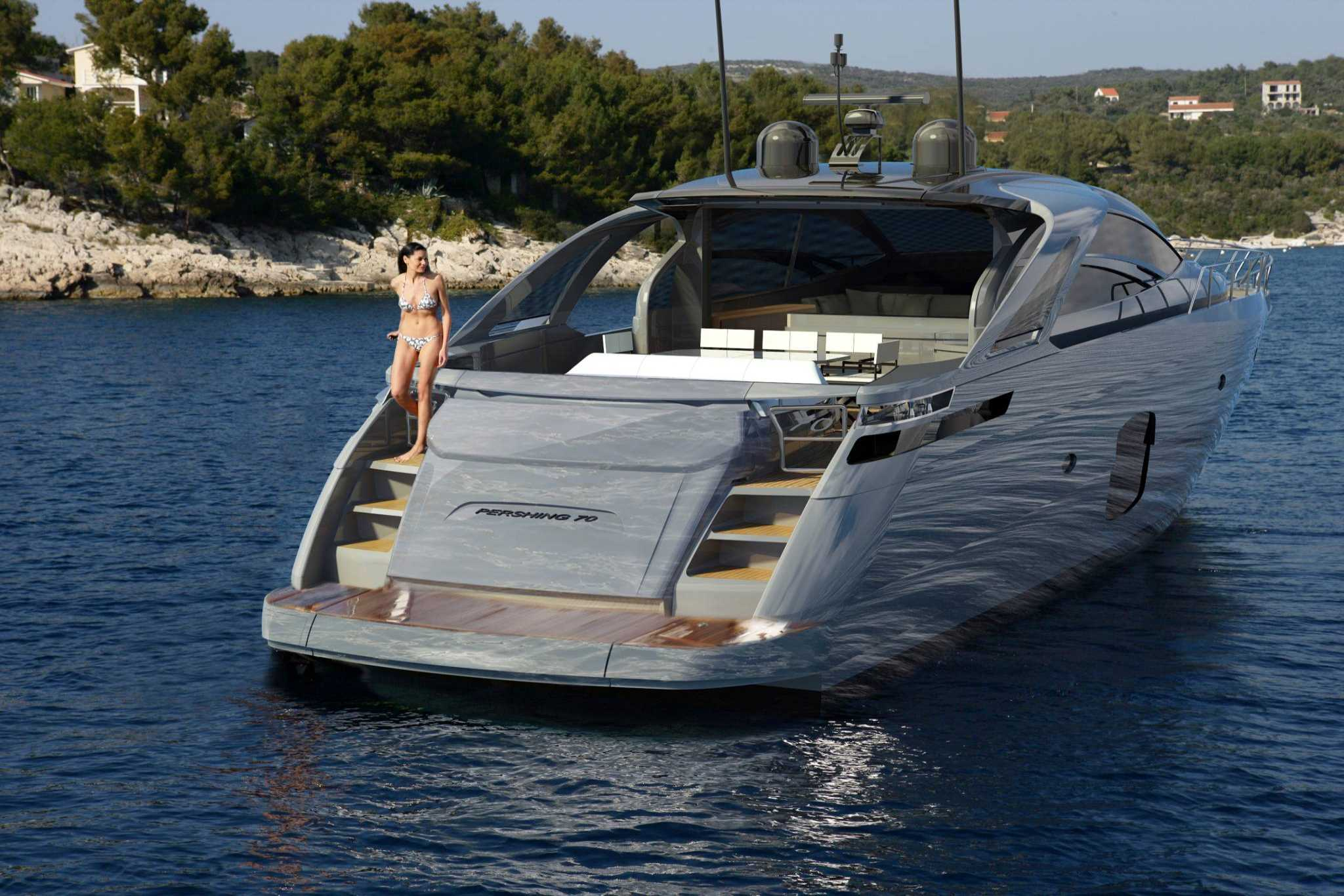 New Pershing 70 Launching At Cannes Boat Show Ita Yachts