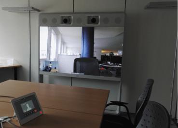 Cisco meeting room view