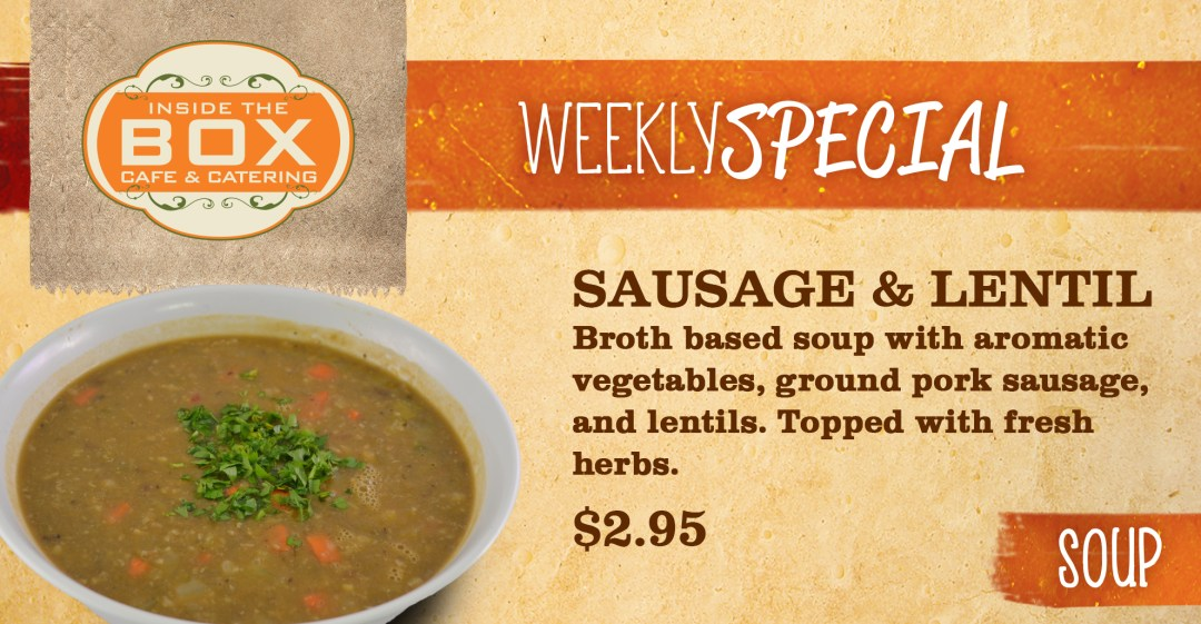Sausage & Lentil 08.17
