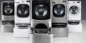 dvigubos skalbimo mašinos
