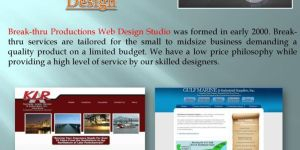 senas web dizainas