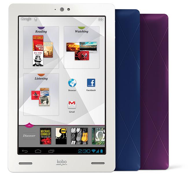 Kobo изменила характеристики своего нового планшета из-за Kindle Fire HD