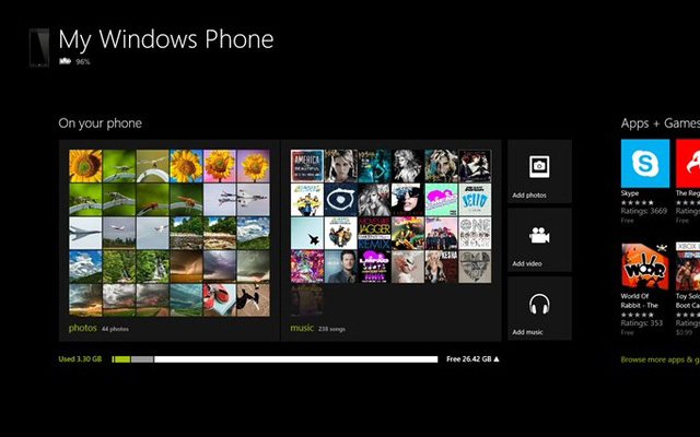 Microsoft выпустила приложение для синхронизации WP8-устройств с Windows 8 и RT