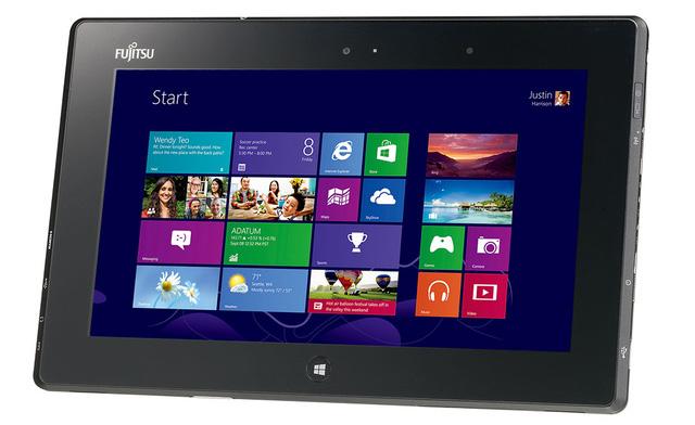 Fujitsu Stylistic Q572 — Windows 8 планшет на базе платформы AMD