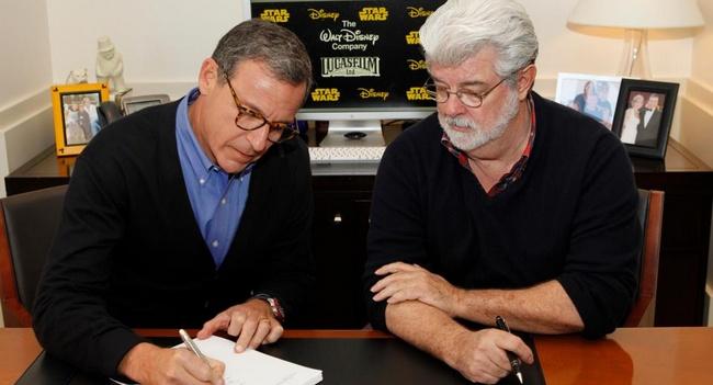 Disney покупает Lucasfilm за $4,05 млрд., Star Wars 7 выйдут в 2015 году
