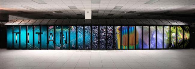 В США запустили суперкомпьютер Titan на основе графических ускорителей NVIDIA Tesla K20
