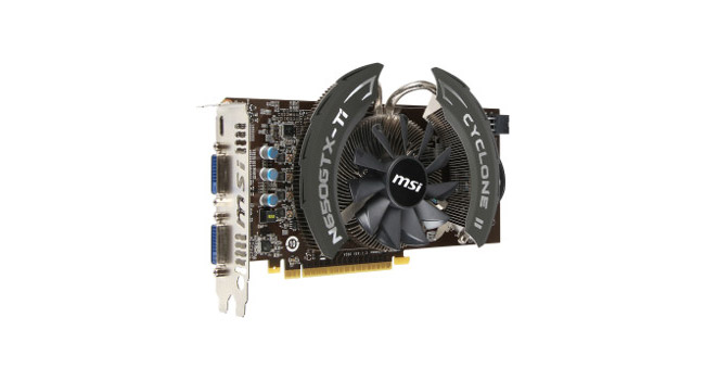 MSI представляет разогнанную видеокарту GeForce GTX 650 Ti