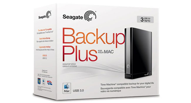 Seagate начинает продажи накопителей Backup Plus Portable for Mac и Backup Plus Desktop for Mac с интерфейсом USB 3.0