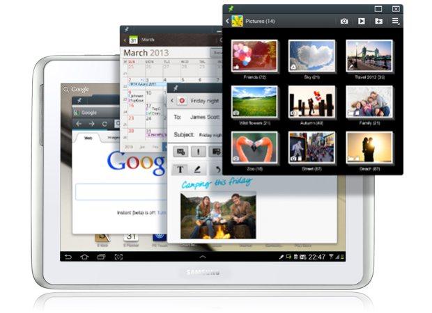 Samsung выпустит для Galaxy Note 10.1 ПО на базе Android 4.1 с Premium Suite